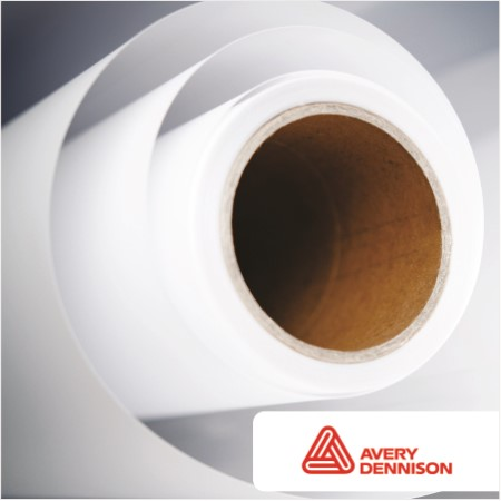 photograph about Printable Vinyl Roll identified as MPI 3303 Electronic PRINT GLOSS WHITE OPAQUE
